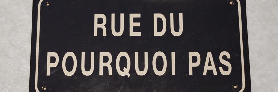 Rue du pourquoi pas rue du pourquoi pas for Pourquoi pas